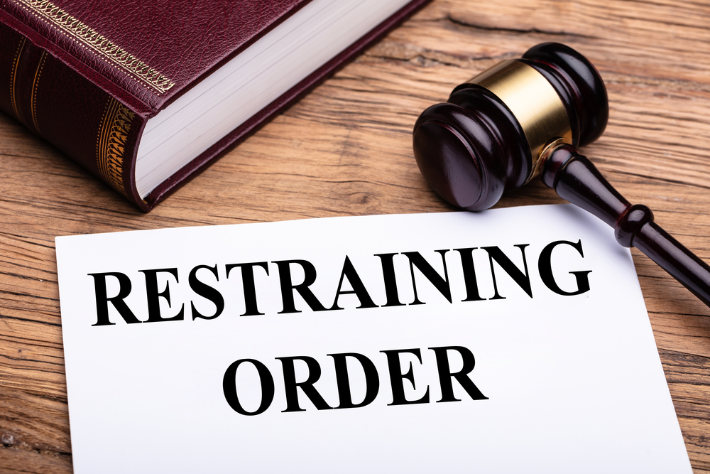 Release of a Temporary Restraining Order (TRO) Bond